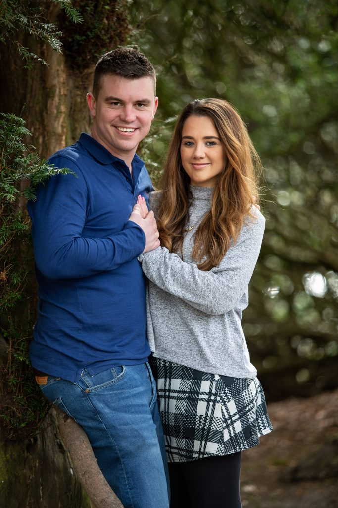 couple during engagement photography