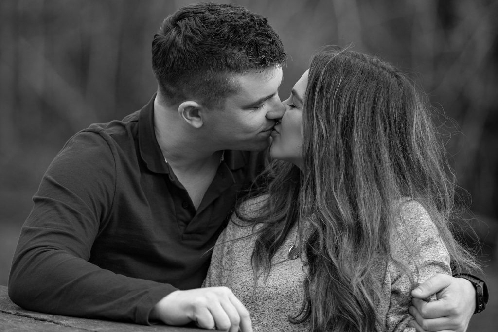black and white engagement photography black and white